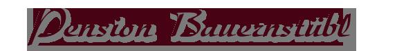 Pension Bauernstübl Logo